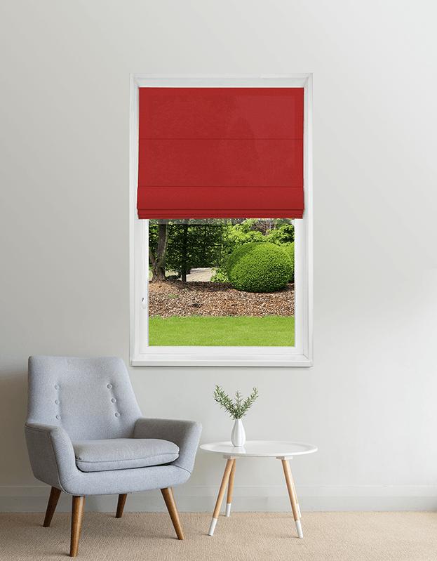 Cranberry Lichtdoorlatend Vouwgordijn