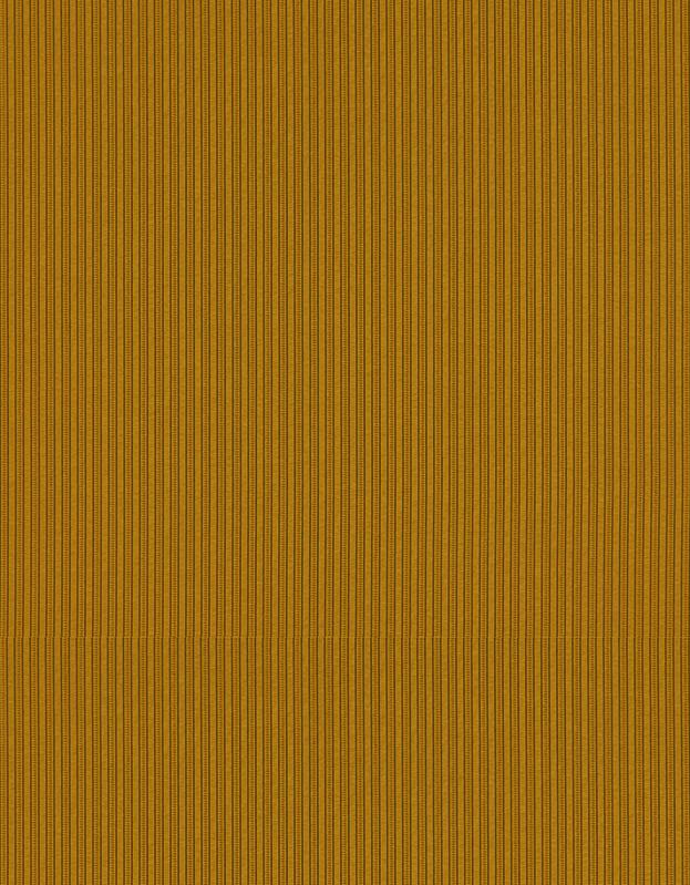Semi-transparant Vouwgordijn Kleurstaal Oker