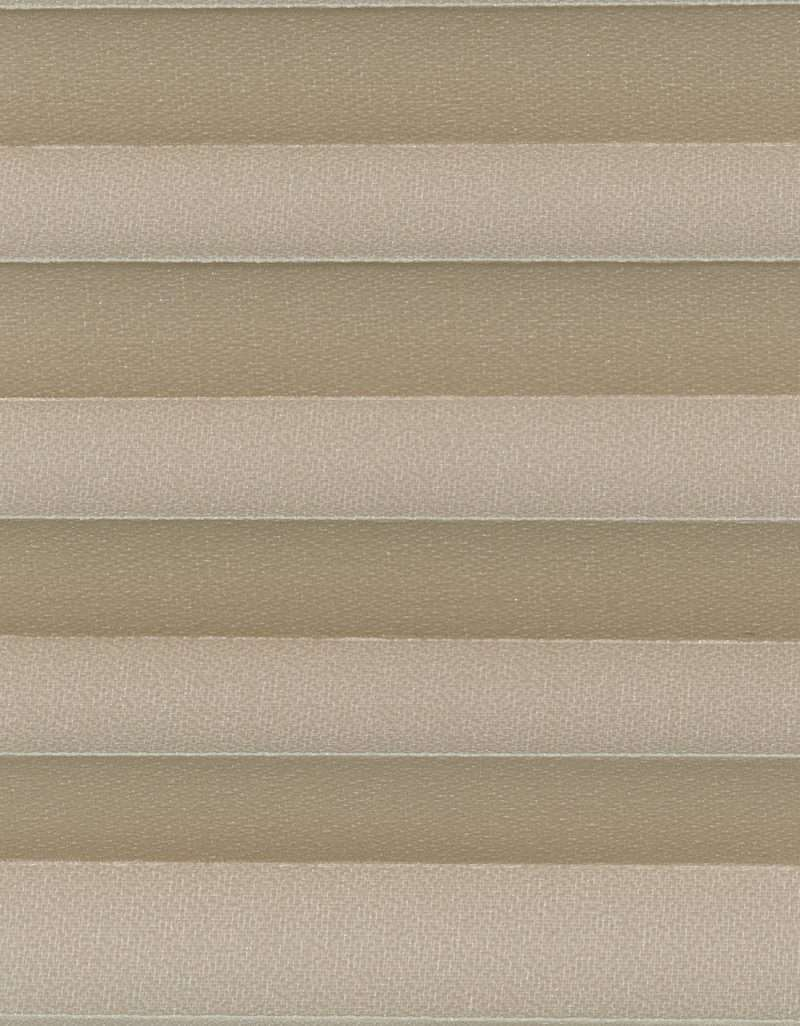 Semi-transparant Plisségordijn Kleurstaal Antiloop