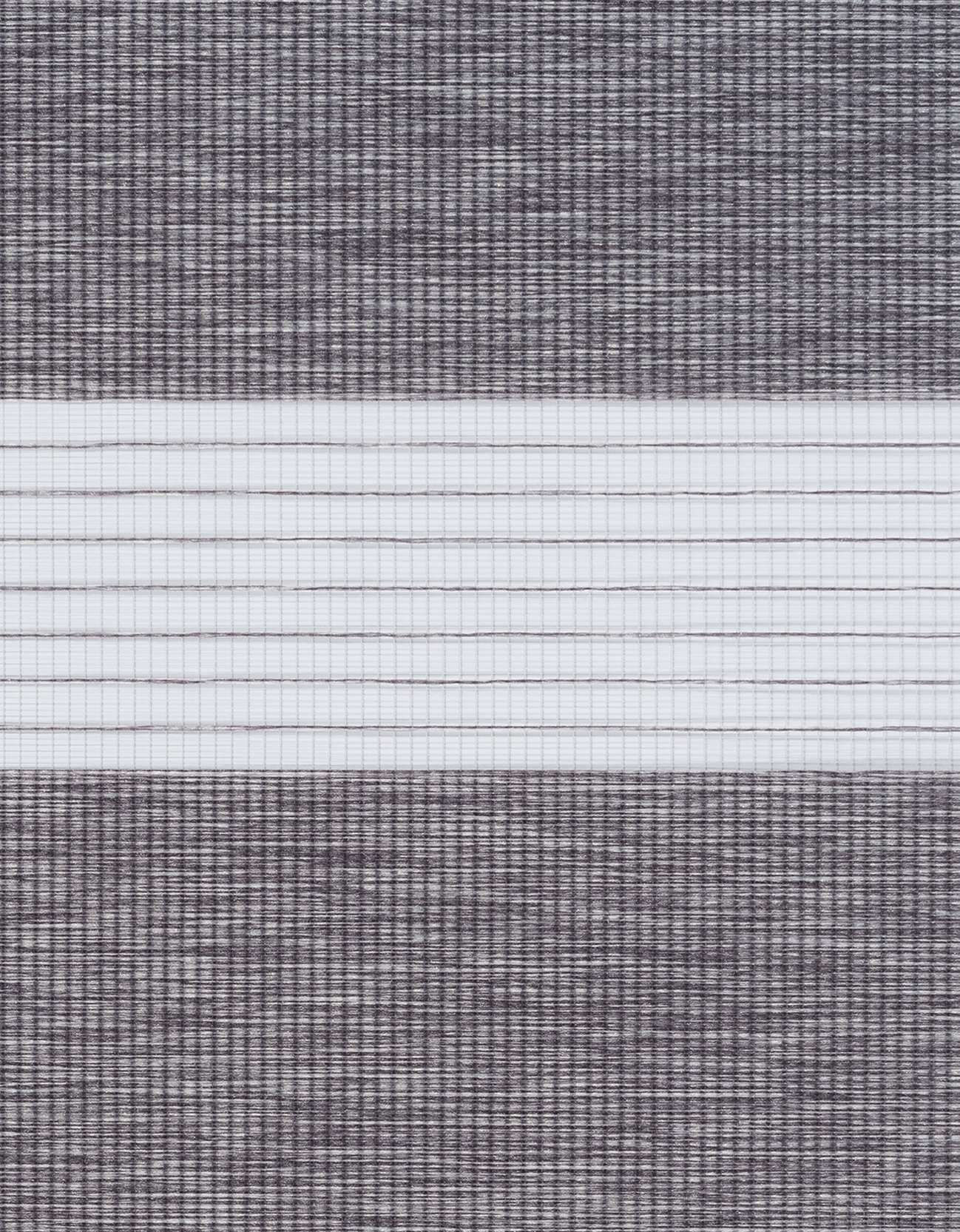 Semi-transparant Duo Rolgordijn Kleurstaal Basalt