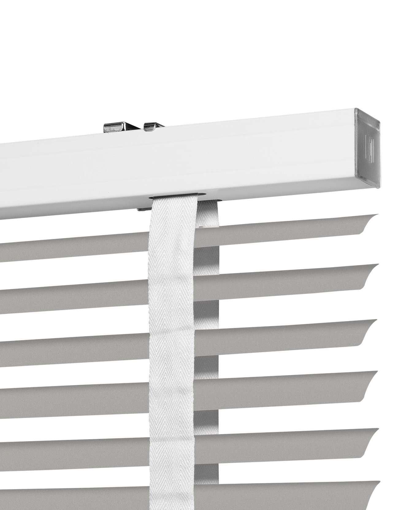 Nimbus Suede Aluminium Jaloezie 50 mm Uitsnede